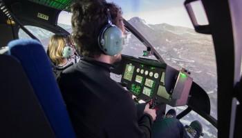 Vol d'initiation sur simulateur EC135 30 min