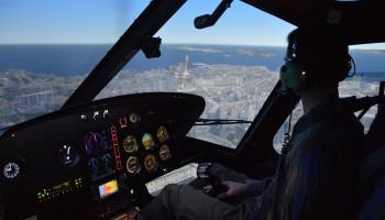 Vol d'initiation sur simulateur AS350 30 min