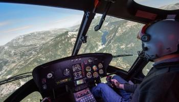Vol d'initiation sur simulateur AS350 15 min